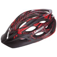 Přilba Limar Ultralight+ MTB matt black red