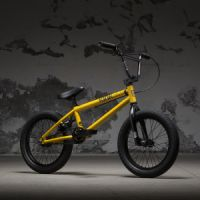 "Kolo KINK BMX Carve 16"" Gloss Olympic Yellow"