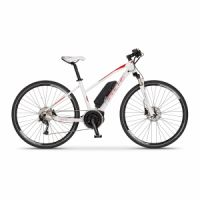 Elektrokolo cross Apache Matto lady Bosch Active Plus 500 Wh bílá 2018