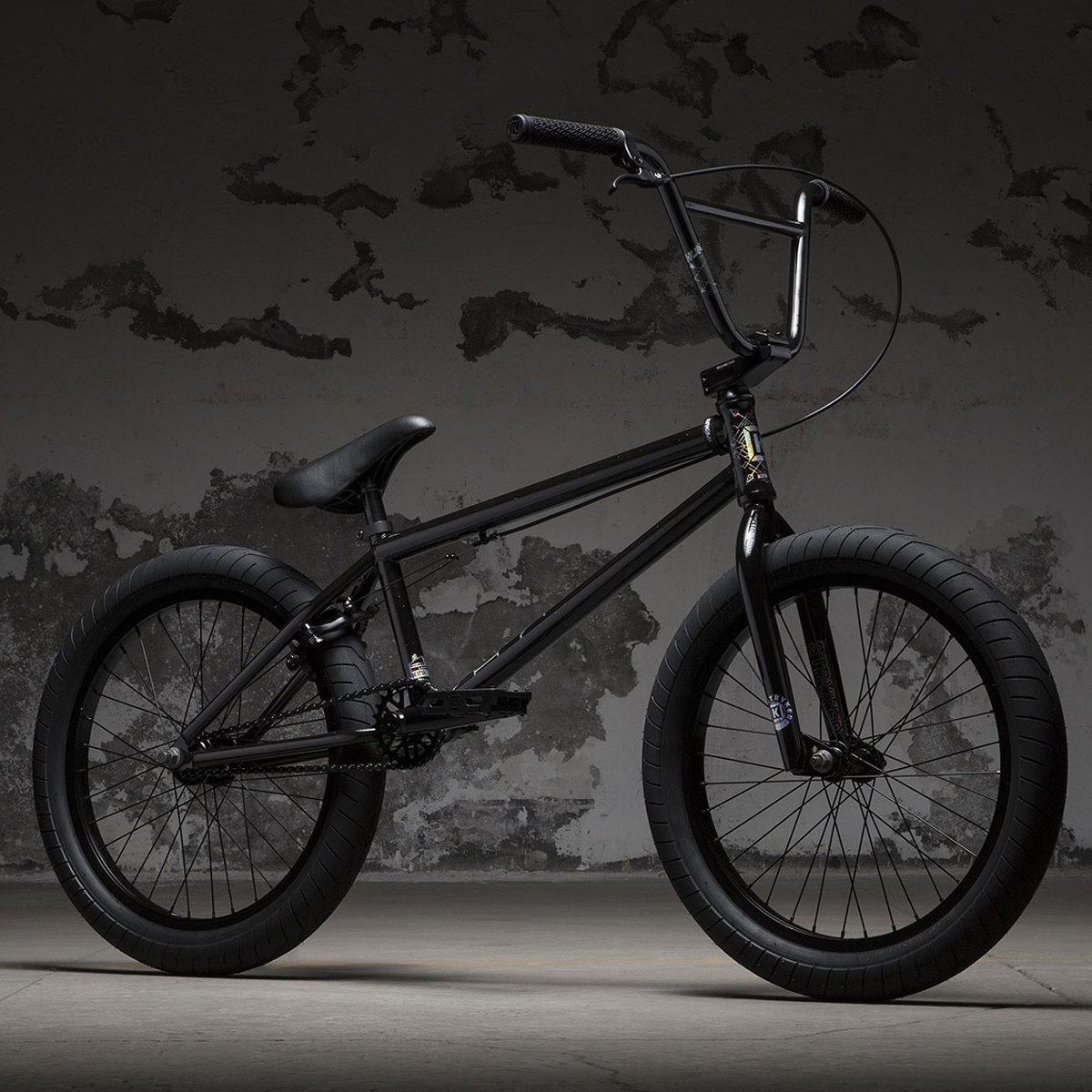 Kolo KINK BMX Launch Gloss Trans Particle Black