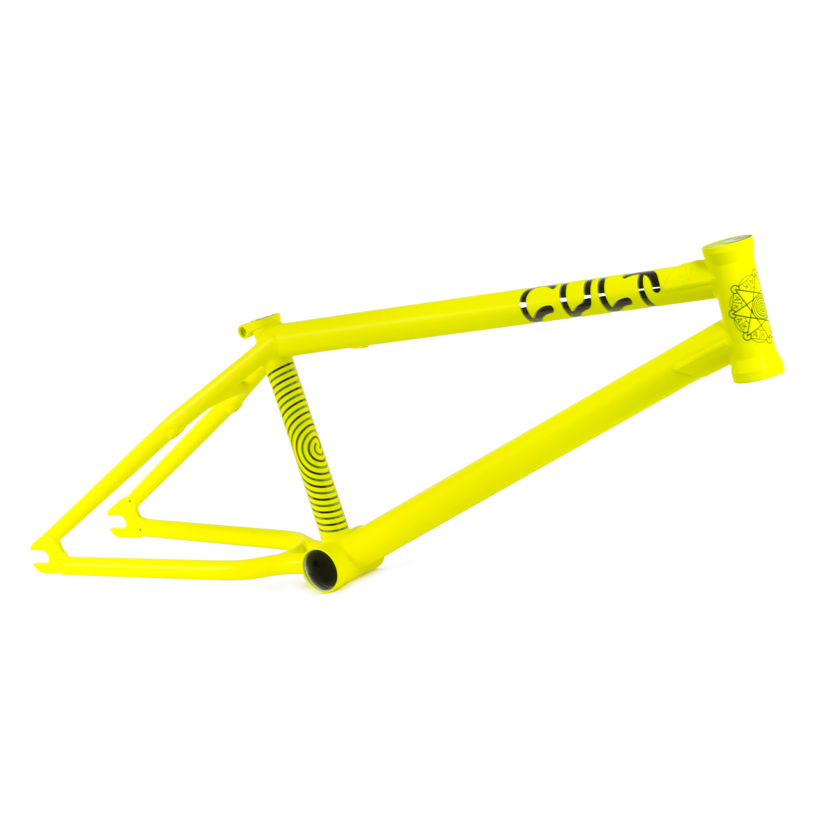 Rám BMX CULT AK Edition OS 3RD Gen Luminous Yellow