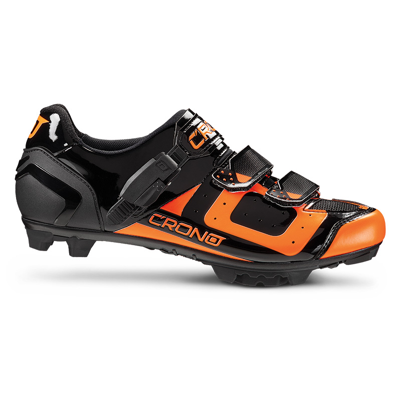 Tretry Crono MTB CX3 2017 Black Orange